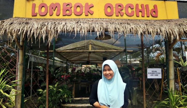 Foto Berita Berkat KUR, UKM Tanaman Hias di Lombok Naik Kelas