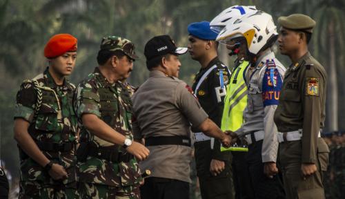 Foto H-5 Lebaran, Kapolri Klaim Angka Kecelakaan Turun