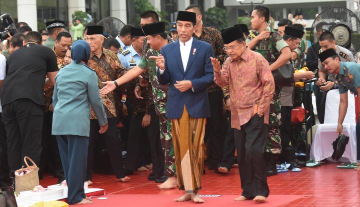 Foto Berita Besok, Jokowi Lebaranan di Bogor