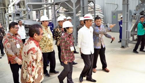 Foto Menteri BUMN Resmikan Digitalisasi Pertanian di Indramayu