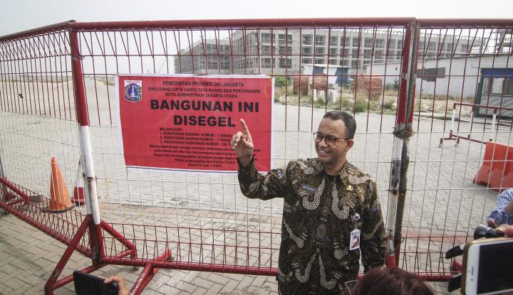 Foto Dihajar Isu IMB Reklamasi, Jangan Baper Bang Anies, Ingat 2024