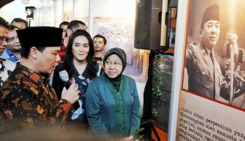 Foto Risma: Pergerakan Ekonomi Surabaya Terus Meningkat