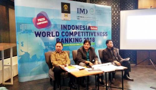Foto Daya Saing Indonesia Turun Peringkat