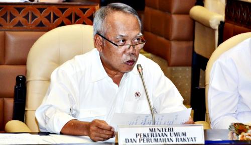 Foto Menteri Basuki Bakal Prioritaskan Belanja Modal