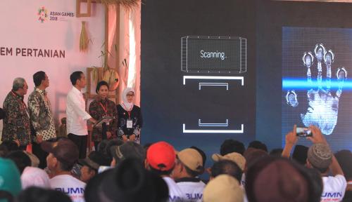 Foto Jokowi: Digitalisasi Pertanian Tingkatkan Produktivitas Petani