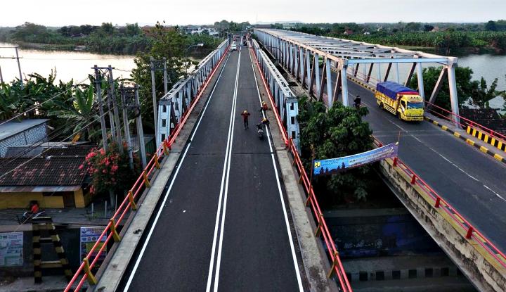 Foto Berita Jembatan Cincin Lama Dibuka, Jalur Pantura Lancar