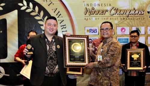 Foto Gracious Preschool Sabet Indonesia Best Franchise Award