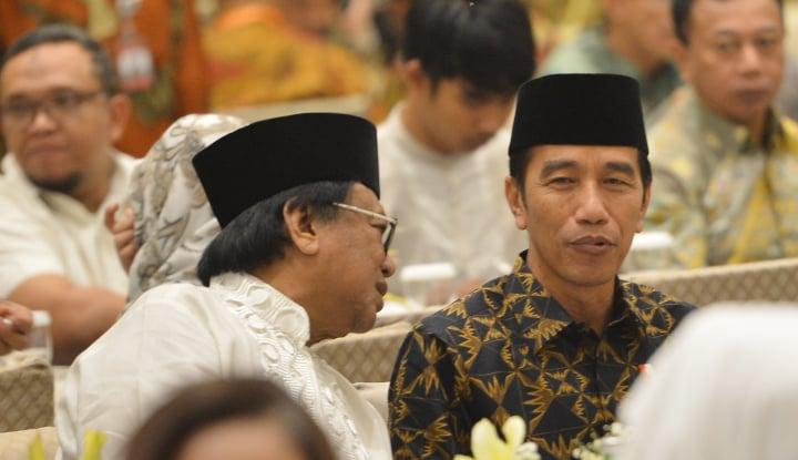 Foto Berita Pujian Pak Oso untuk Pidato Jokowi: