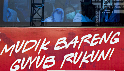 Foto Jasa Raharja Berangkatkan 3.858 Pemudik Kembali ke Jakarta