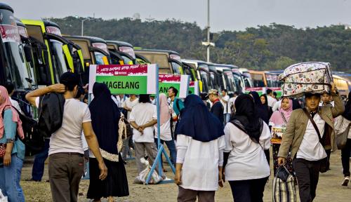 Foto Jasindo Layani 1.100 Pemudik ke Kota Tujuan
