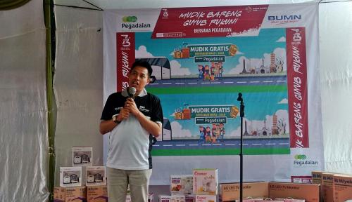 Foto Pegadaian Medan Berangkatkan 250 Nasabah Mudik Gratis