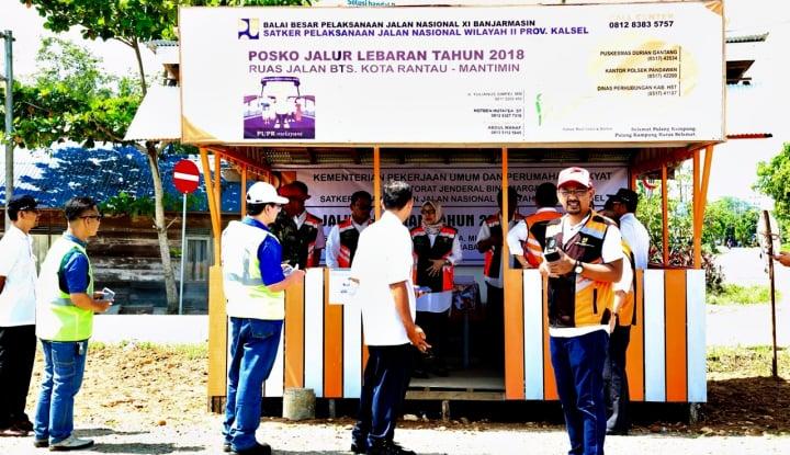 Foto Berita Perlancar Mudik, Kementerian PUPR Siagakan 588 Posko Sapta Taruna