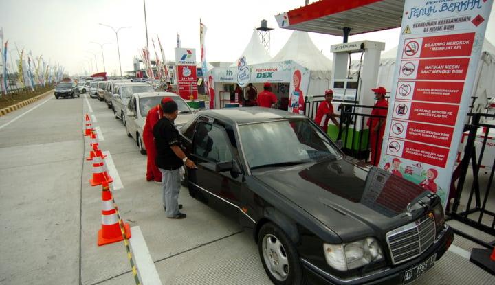 Foto Berita Pemudik Jangan Gunakan BBM RON Tinggi, Ini Akibatnya