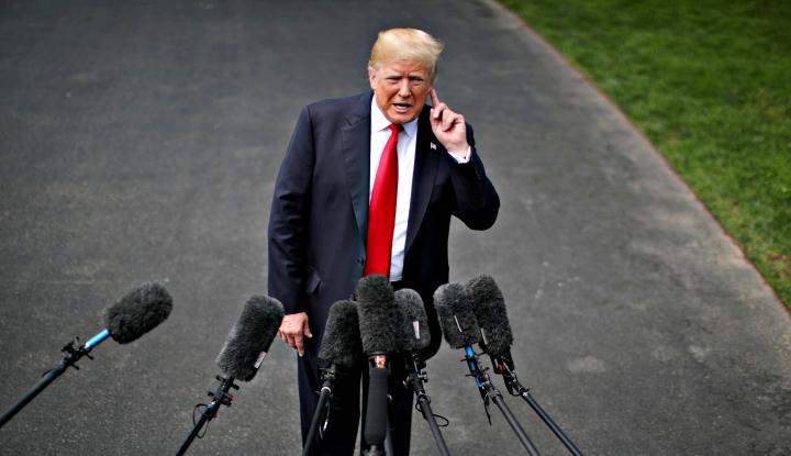 Waduh! karena Lakukan Ini, Trump Jadi Langgar Hukum - Warta Ekonomi