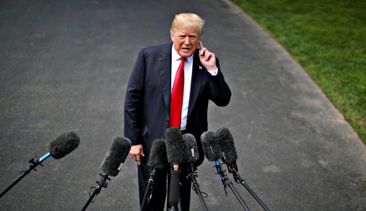 Trump Buka Pintu Dialog Soal Denuklirisasi Iran - Warta Ekonomi