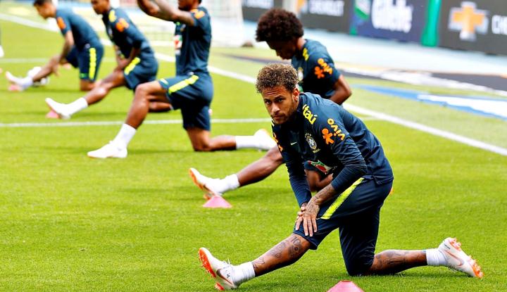Foto Berita Pele Ragu Brasil Juara Piala Dunia
