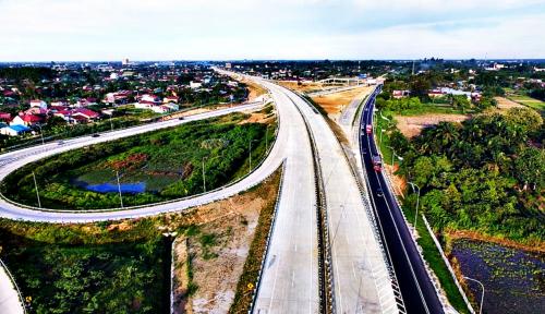 Foto 8 Ruas Tol Trans Sumatera Ditargetkan Rampung 2019