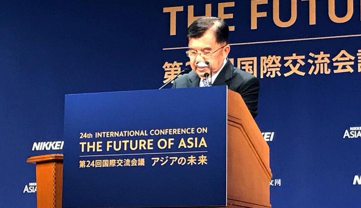 Foto Berita JK Sebut Jepang Minta Kesempatan Investasi Lebih Besar