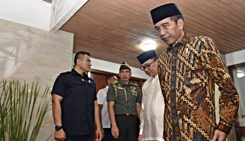 Foto IRI: Popularitas Jokowi Kian Meroket