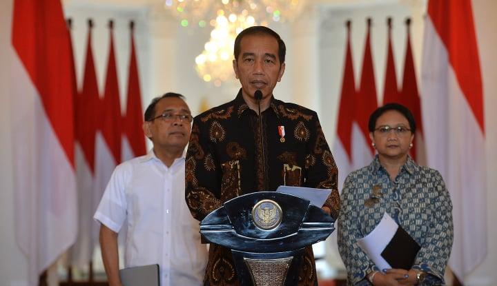 Foto Berita Pagi ini, Jokowi Tengok Korban Gempa Lombok
