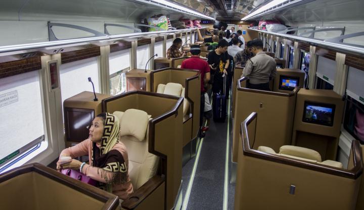 Foto Berita Tiket Kereta Sleeper Ludes Terjual Sejak Kemarin