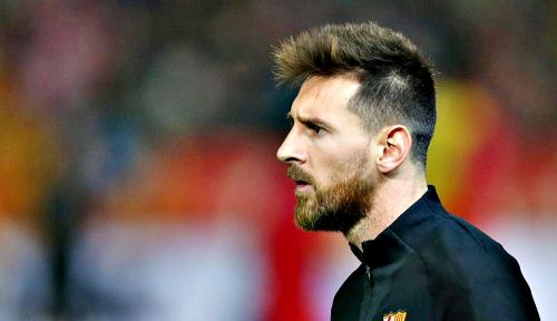 Foto Messi Mulai Berlatih Bersama Barca