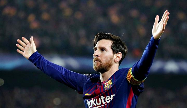 Foto Berita Messi Sukses Genapkan Golnya yang ke-400