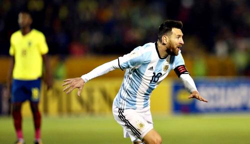 Foto Piala Dunia: Ada Messi di Sana-Sini