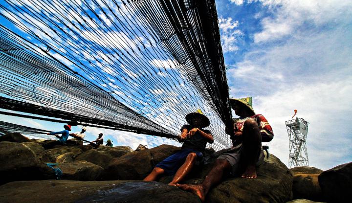 Foto Berita Muara Angke, Muara Harapan Kebangkitan Nelayan Pinggiran