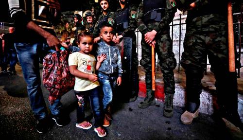 Foto Begini Kondisi Perayaan Idul Fitri di Jalur Gaza