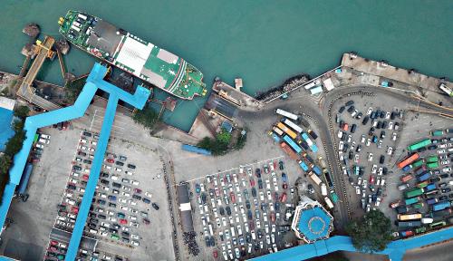 Foto Bangun Terminal Gilimas, Pelindo III Bidik Ribuan Wisatawan