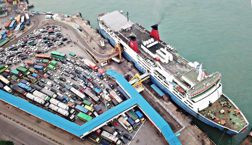 Periode Lebaran, ASDP Layani 45 Ribu Lebih Truk Logistik di 9 Lintasan