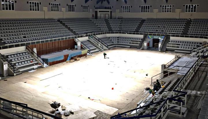 Foto Berita Jelang Asian Games, Renovasi Padepokan Pencak Silat TMII Rampung