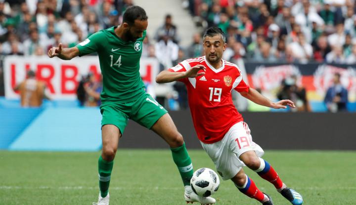 Foto Berita Rusia Hancurkan Arab Saudi 5-0 pada Pembukaan Piala Dunia
