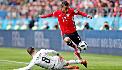 Foto Tanpa Moh Salah, Mesir Keok 0-1 Lawan Uruguay