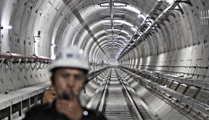 Foto Berita Menhub: Pembangunan MRT Fase I Telah Capai 94%