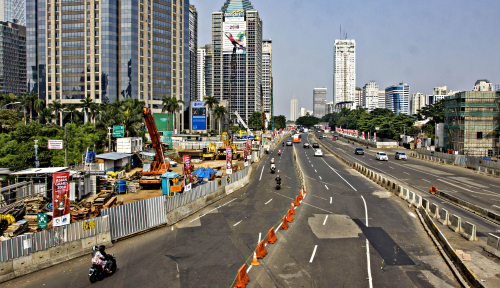 Foto H+3 Lebaran, Jakarta Masih Sepi