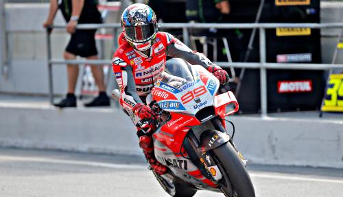 Foto Lorenzo Raih Kemenangan di GP Katalunya