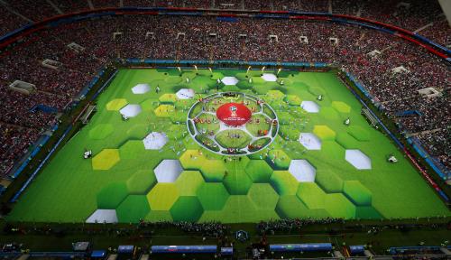 Foto Kini Bekas Kota Terlarang Gelar Piala Dunia