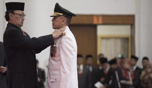 Foto Tjahjo Kumolo: Tak Ada Pelanggaran dalam Pelantikan Gubernur Jabar