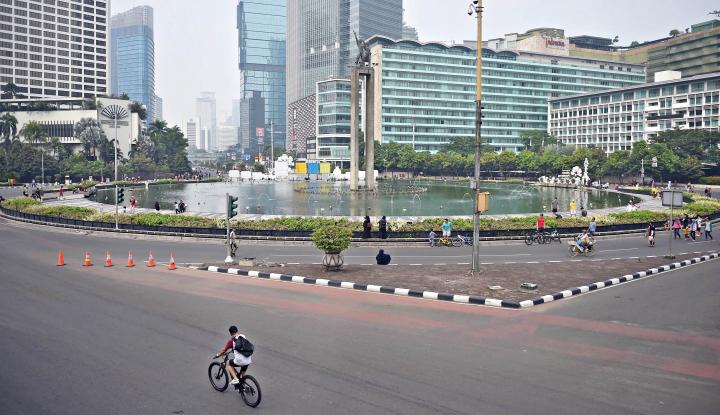 Foto Berita Jakarta Diperkirakan Cerah Berawan Senin Ini