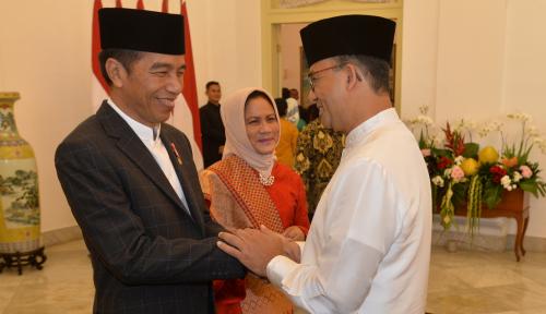 Foto Mudik ke Solo, Jokowi Sempatkan Blusukan