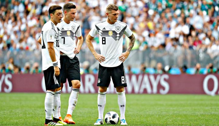 Foto Berita Ozil Jadi Kambing Hitam Kegagalan Jerman