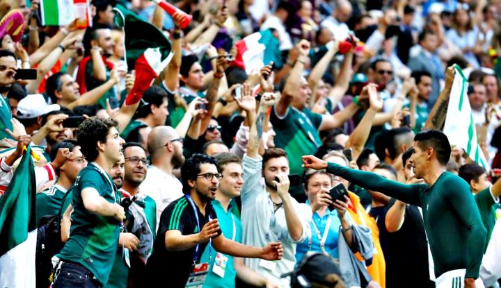 Foto Berita Korsel Menang Kontra Jerman, Supporter Meksiko Bersumpah Dengarkan K-Pop