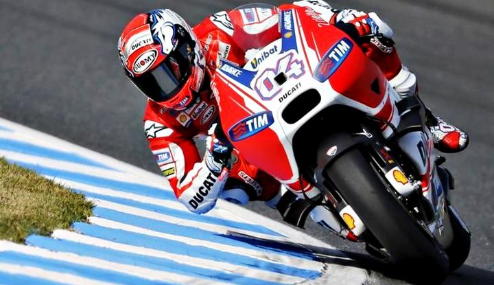 Dovizioso Menangi MotoGP San Marino - Warta Ekonomi