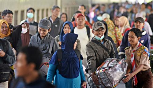 Foto Mudik: Momentum Pemerataan Ekonomi Masyarakat Daerah