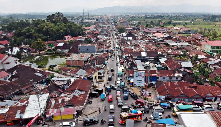 Foto Berita Arus Balik, Jalur Sumbar-Riau Macet pada H+2