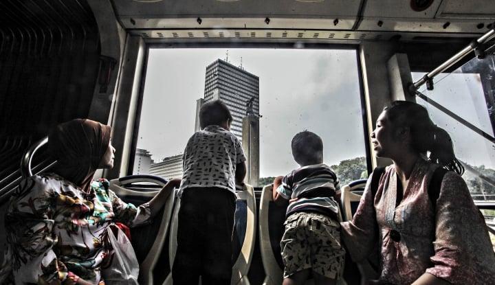 Foto Berita Ramai-Ramai Memadati Dufan Ancol