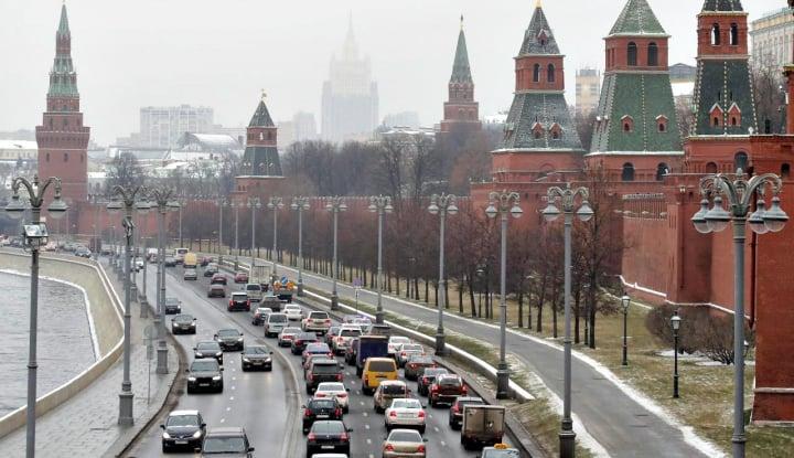 Mantap! Seluruh Warga Rusia Dipantau Kamera Pengawas untuk Taati Aturan Karantina - Warta Ekonomi
