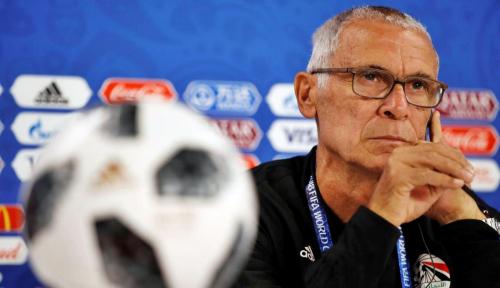 Foto Pelatih Mesir: Tim Bayar Mahal Kesalahan